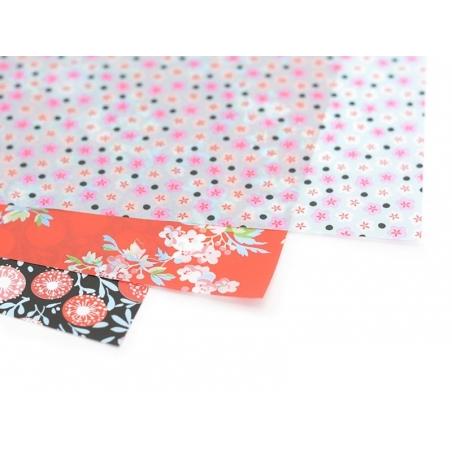 Décopatch paper - small fleurettes