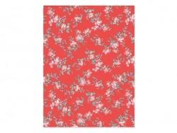 Papier décopatch -  fleurs japonaises