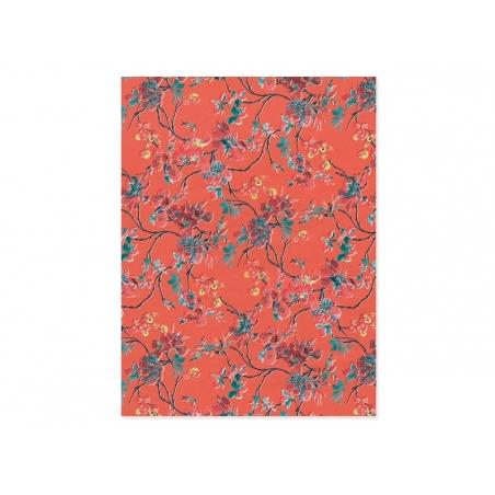 papier d copatch fleurs vintage acheter feuilles d copatch en ligne. Black Bedroom Furniture Sets. Home Design Ideas