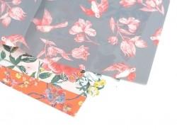 Papier décopatch -  fleurs vintage
