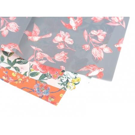 Papier décopatch -  fleurs british Décopatch - 2