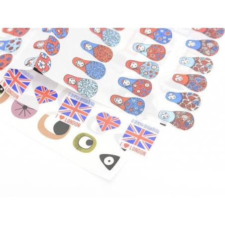 Décopatch paper - cartoon eyes