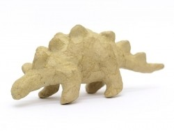 Individuell gestaltbarer Dinosaurier - Stegosaurus - Pappmaschee
