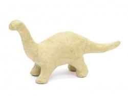 Individuell gestaltbarer Dinosaurier - Brontosaurus - Pappmaschee
