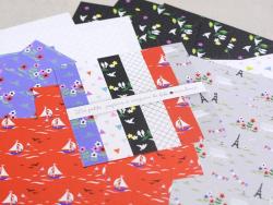 Papiers à origami - Promenade à Paris par Fifi mandirac