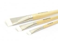 3 pinceaux à colle en nylon - n°10-17-30 Décopatch - 3