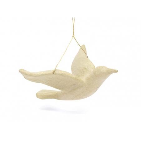 oiseau - papier mâché à customiser Décopatch - 3