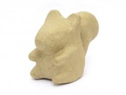 Ecureuil  - papier mâché à customiser