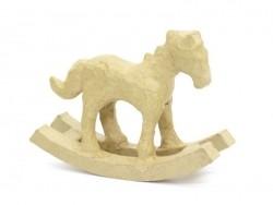 Rocking horse - papier mâché, customisable