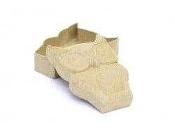 Boîte chouette - papier mâché à customiser Décopatch - 1