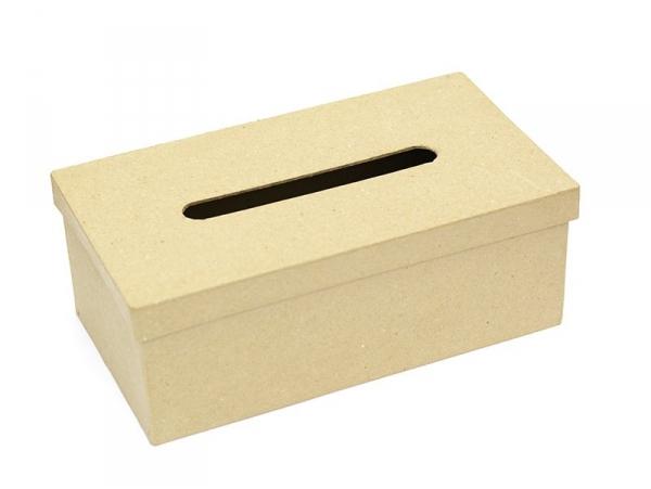 Boîte à mouchoirs - papier mâché à customiser Décopatch - 1