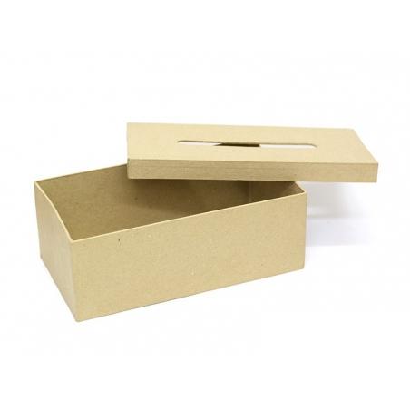 Boîte à mouchoirs - papier mâché à customiser Décopatch - 2