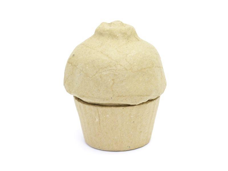 Boîte cupcake - papier mâché à customiser