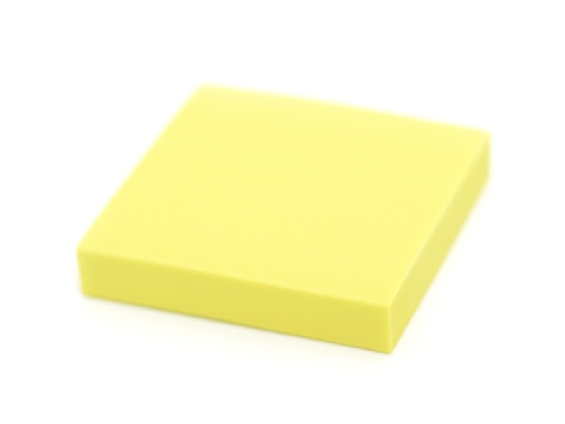 Rubber carving block for the creation of stamps - yellow