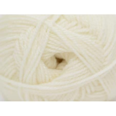 """Laine à tricoter """"Basic Acrylic"""" - écru"""