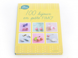"Book - ""100 Bijoux en pâte Fimo"" by Carine Le Guilloux (in French)"