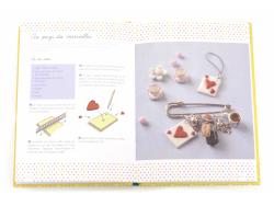 Livre 100 Bijoux en pâte Fimo de Carine Le Guilloux