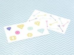 21 Tatouages graphiques - flèches et diamants