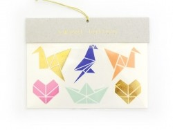 14 Tatouages graphiques - origamis et diamants Meri Meri - 1