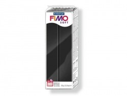 Fimo Soft - black no. 09 (350 g)