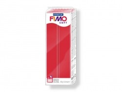 Fimo Soft - cherry red no. 26 (350 g)