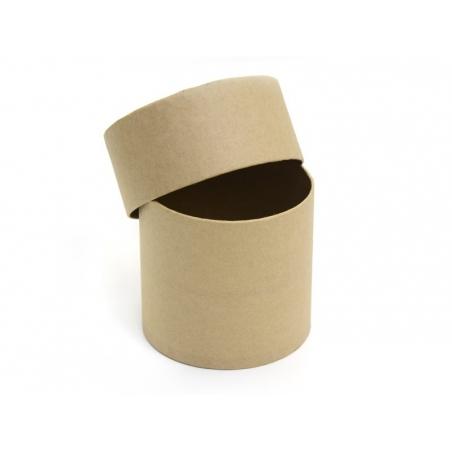 Acheter Boîte ronde - papier mâché à customiser - 4,70€ en ligne sur La Petite Epicerie - 100% Loisirs créatifs