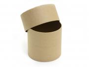Boîte ronde - papier mâché à customiser