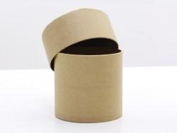 Round box - papier mâché, customisable