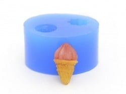 Silicone mould - delicious-looking ice-cream
