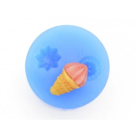Moule en silicone - glace gourmande