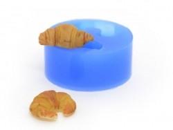 Silikonform - 2 Croissants