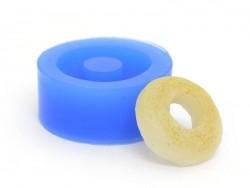 Silicone mould - simple doughnut