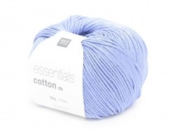 "Knitting cotton - ""Essentials"" - lavender blue"
