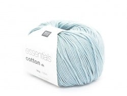 "Knitting cotton - ""Essentials"" - jade green"