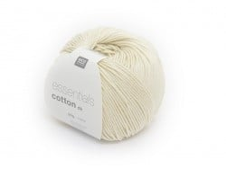 "Knitting cotton - ""Essentials"" - natural"