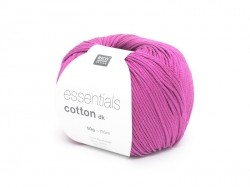 "Knitting cotton - ""Essentials"" - raspberry"
