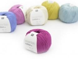 """Coton à tricoter """"Essentials"""" - framboise"""