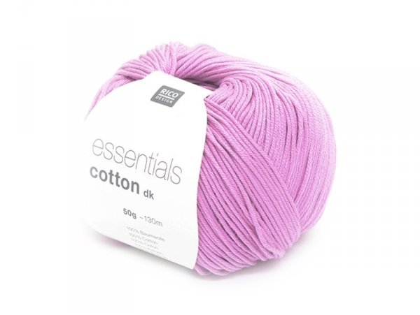 "Knitting cotton - ""Essentials"" - orchid"