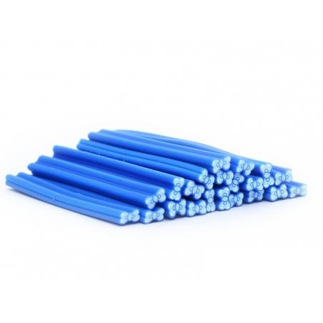 Acheter Cane noeud bleu à pois en pâte polymère - 0,99€ en ligne sur La Petite Epicerie - 100% Loisirs créatifs