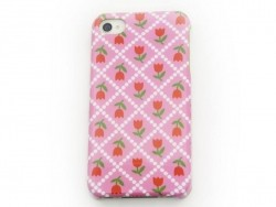 Coque d'iphone 4 - 4s TULIPES Fifi Mandirac