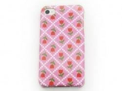 Handyhülle fürs iPhone 4/4s - Tulpen - Fifi Mandirac