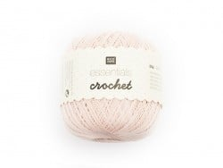 "Crochet cotton - ""Essentials - Crochet"" - powder pink"
