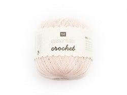 """Puderfarbenes Baumwollgarn """"Crochet - Essentials"""""""