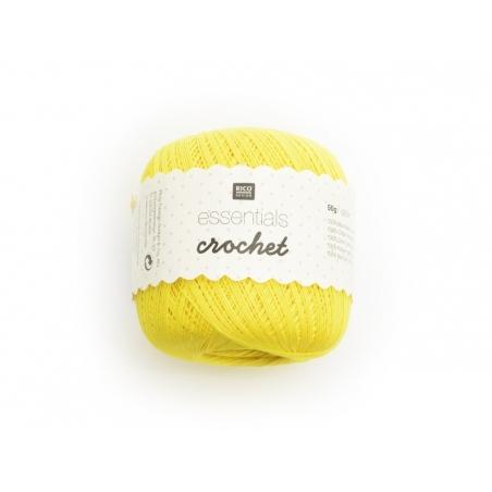 "Fils de Coton Crochet ""Essentials"" jaune"
