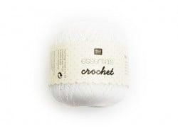 """Acheter Fils de Coton Crochet """"Essentials"""" blanc - 2,90€ en ligne sur La Petite Epicerie - Loisirs créatifs"""