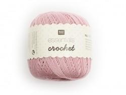"Crochet cotton - ""Essentials - Crochet"" - pink"