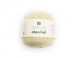 "Crochet cotton - ""Essentials - Crochet"" - beige"