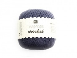"Fils de Coton Crochet ""Essentials"" gris souris"
