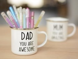 "Mug - ""Dad you are awesome"""