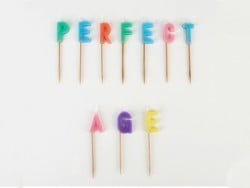 "Bougies ""PERFECT AGE"""